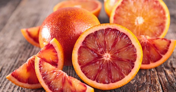 Blood oranges help in weight loss