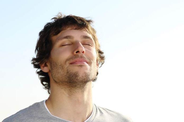 Rhythmic breathing during yoga is good