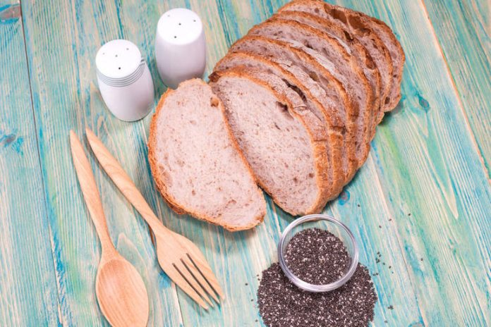 Gluten-free millet-chia bread contains fewer carbs than regular bread