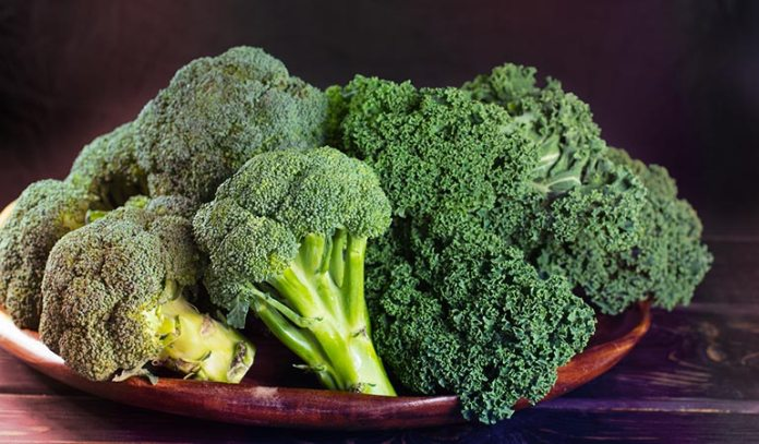 Intake of cruciferous vegetables reduce the risk of lung cancer.)