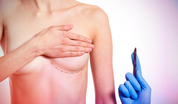 Breast implant surgery involves the insertion of a semi-permanent implant.