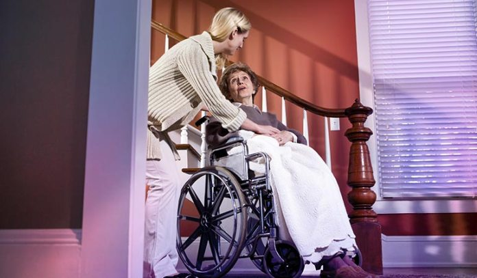 Care workers have a lot of responsibility and long hours.