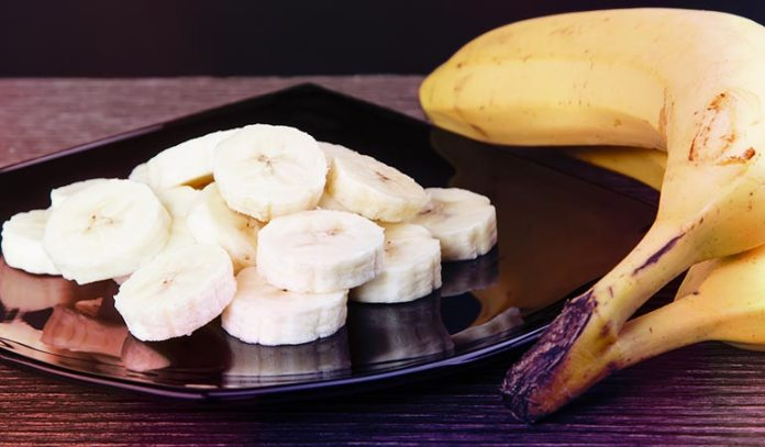 One-fourth of a cup of ripe, mashed bananas is equal to one egg.)