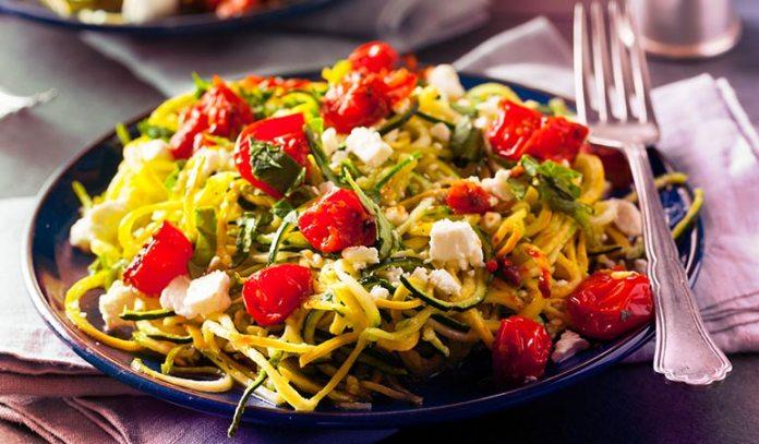 Spiralize Zucchini To Make Nutritious Spaghetti