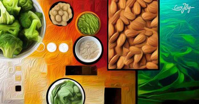 Multiple vegetables, fruits, and nuts can replace animal sources for protein