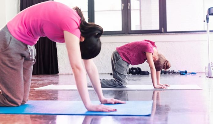Cat pose helps you increase coordination in autistic kids.