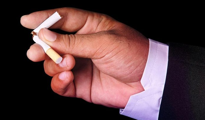 (Quit smoking to prevent most of the lung diseases and lung cancer