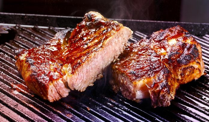Beef is rich in heme iron but high in cholesterol and saturated fat.