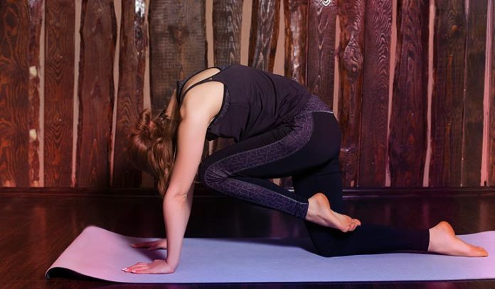 Downward dog extensions works your legs and core)