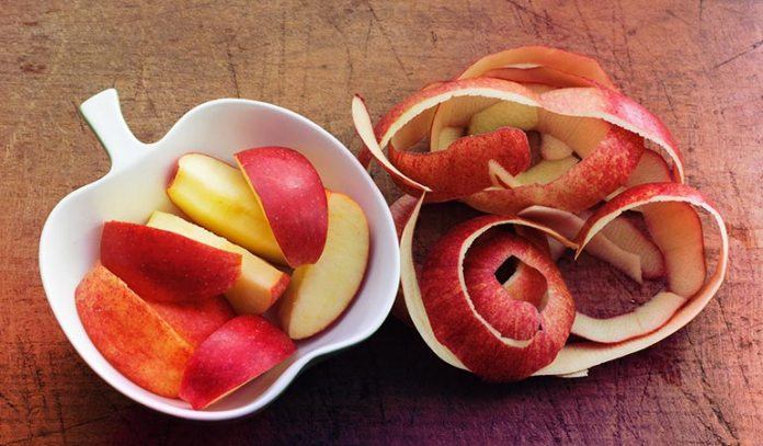 Apple Peels Add Flavor And Nutrition To Your Tea