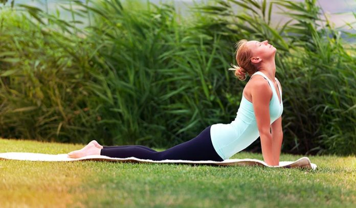 Cobra pose can keep your liver healthy and functioning.