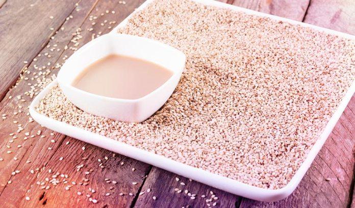 Tahini contains 10 grams of protein per 50 grams