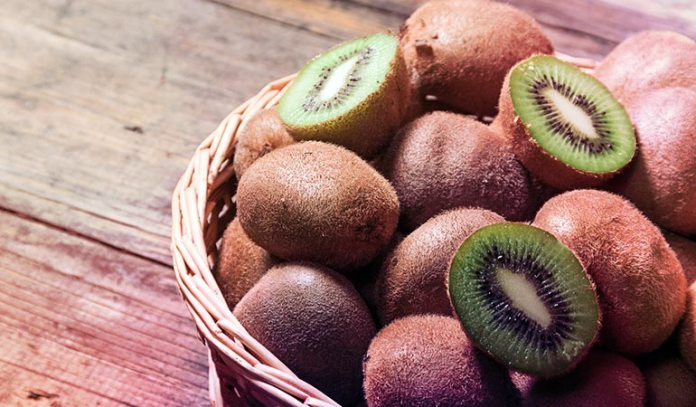 Kiwi Skins Contain High Levels Of Vitamin