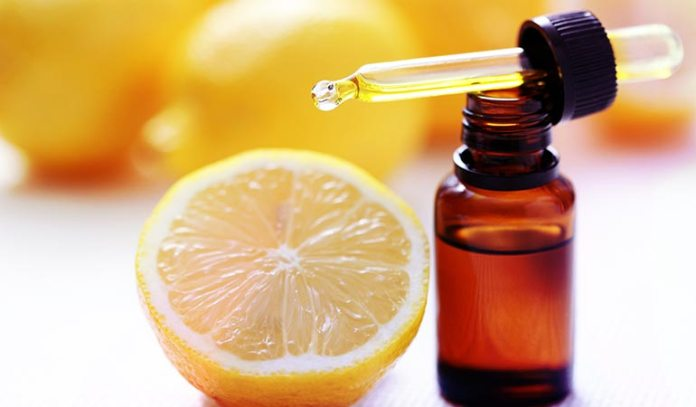 Inhale lemon essential oil steam to keep your bronchial tube comfortable.