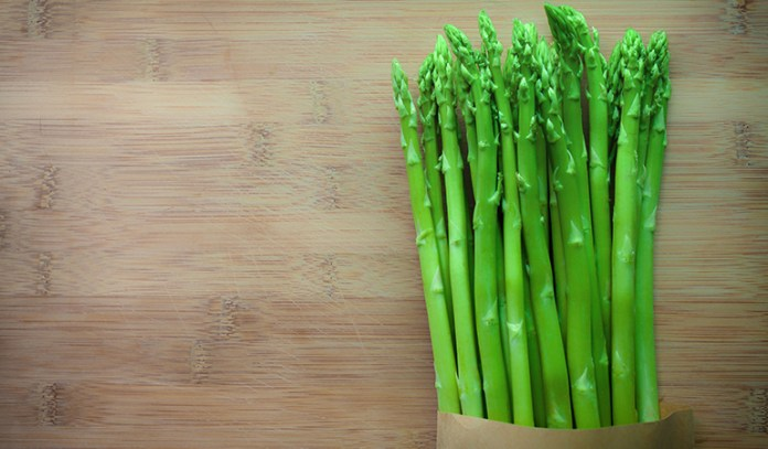 Asparagus is rich in proteins and fiber.