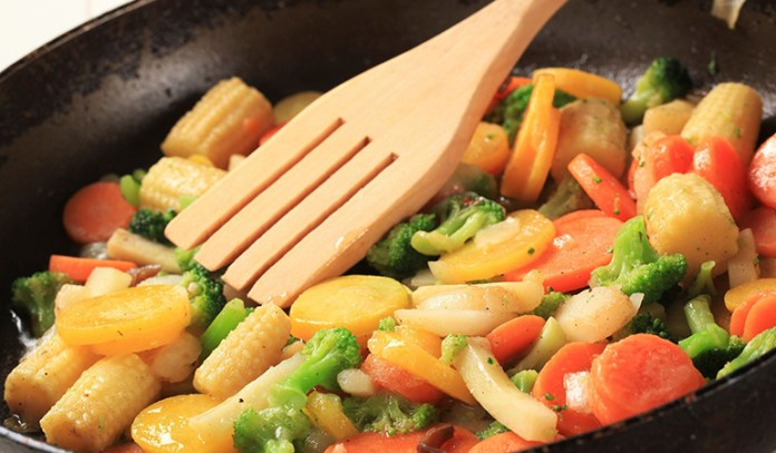 Cook Your Vegetables Lightly