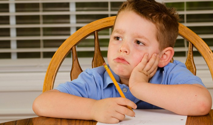 children with ADHD have low attention span