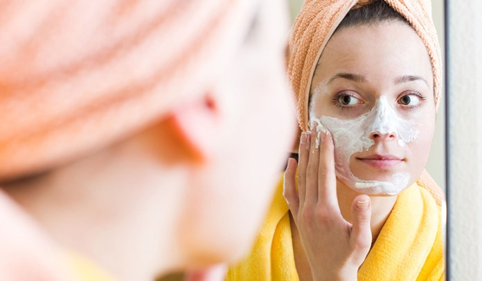 Exfoliating too much can inflame your skin.