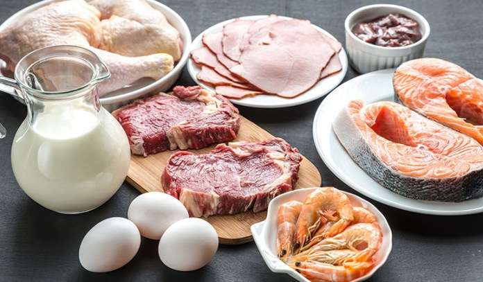 Meat and dairy products high in saturated fats and cholesterol must be avoided