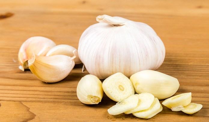 Garlic has anti-bacterial properties