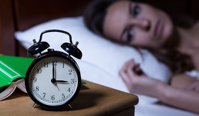 Anxious People Have Sleep Disturbances