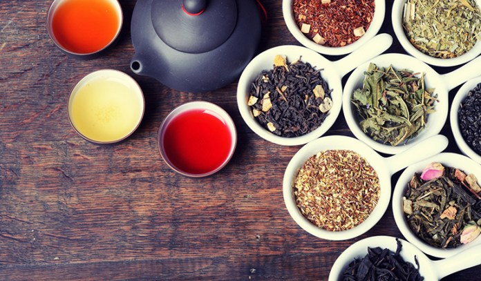 Herbal teas can help to sooth the acid formation in the stomach
