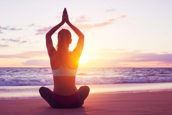 Practice yoga and meditation to reduce anxiety and sleep better.
