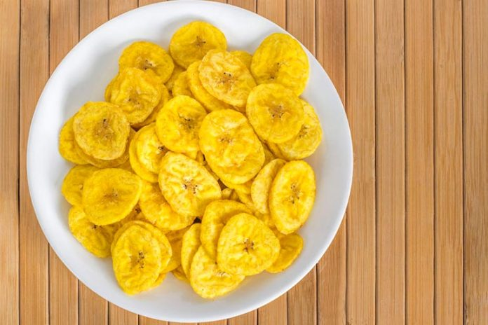 Eat Unsalted Snacks Like Banana Chips