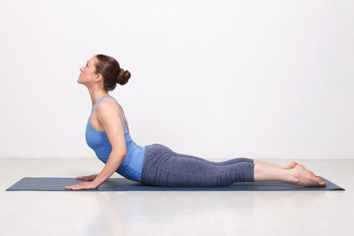 Bhujangasana or Cobra Pose makes your lung muscles stronger and is very beneficial for asthma patients.