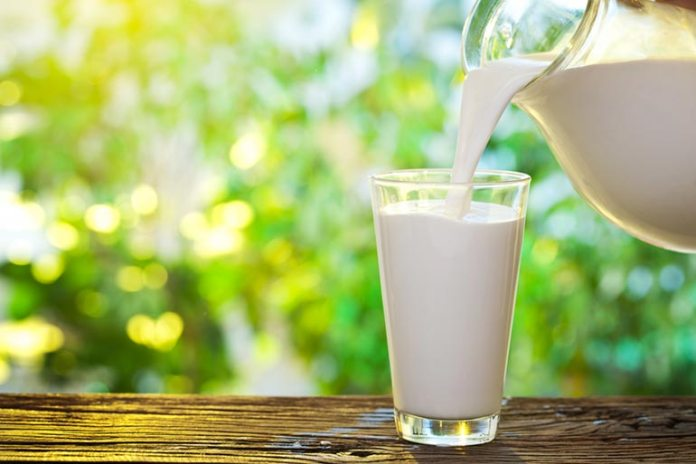 Yogurt whey can be added to milk and consumed