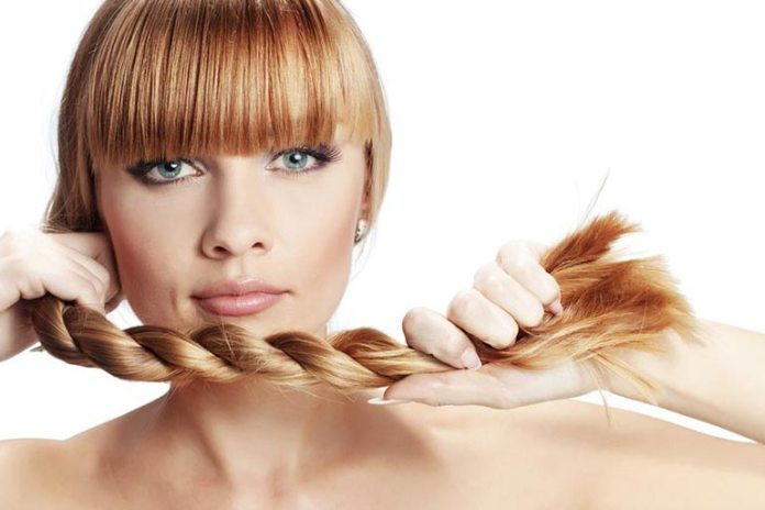 Healthy Hair Does Not Break Easily