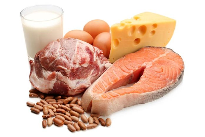 Dairy products and meat provide you with adequate protein