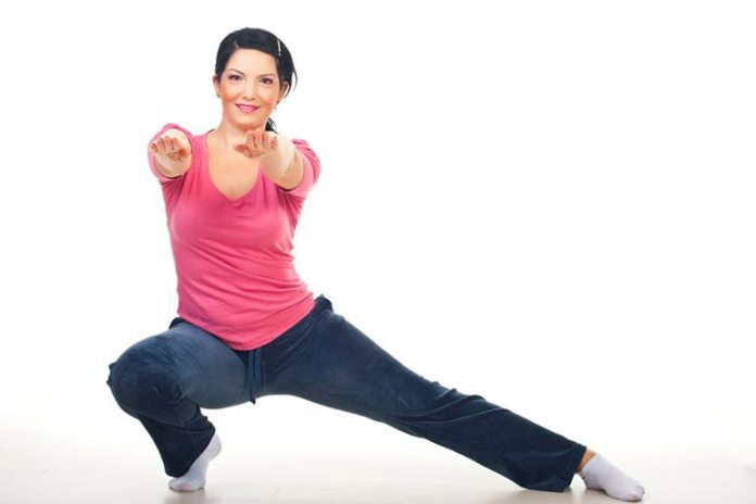 Lunge stretches will stretch your hip flexors, thighs, and pelvis