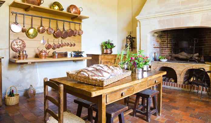 Kitchen is a brilliant home for germs as you cook and store food there