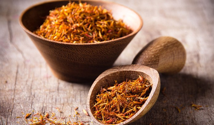 Saffron, an aphrodisiac, can relax your body and help you enjoy the moment