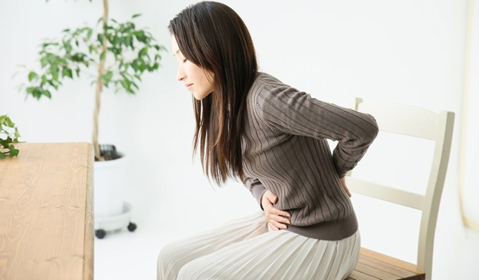 Uterine fibroids can also result in spotting before periods