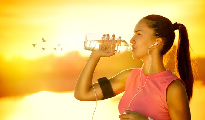 Water keeps you hydrated