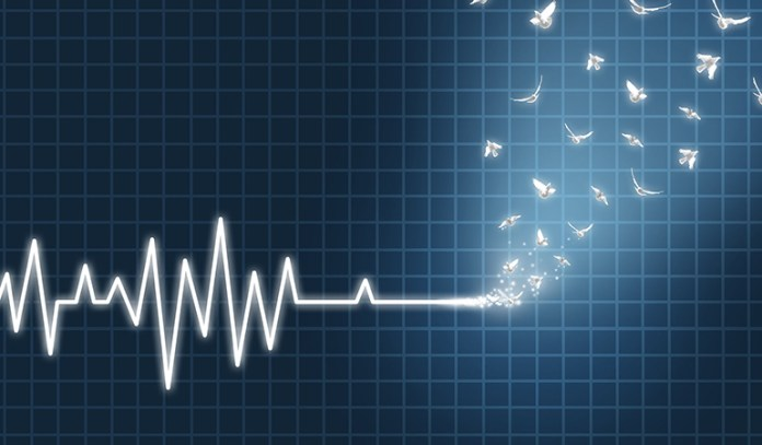 A sudden cardiac arrest comes with no warning or symptoms