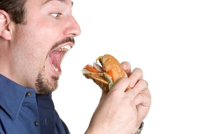 Eating too fast can lead to obesity