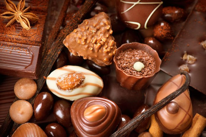 The dairy and caffeine in chocolate can be irritating
