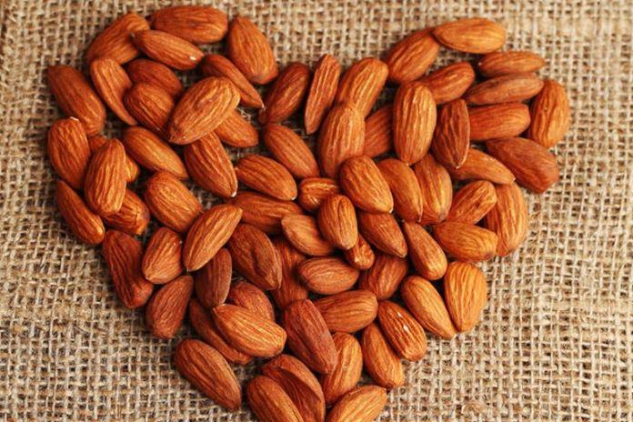 Vitamin E in almonds prevents heart disease