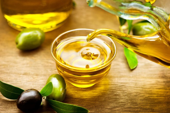 Olive can be used to moisturize your baby after a shower