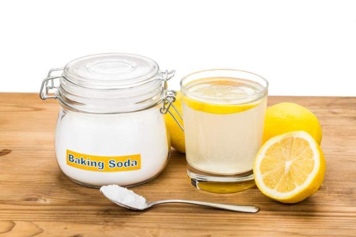 lemon and baking soda for warts