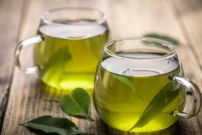 Green tea is healthy as it contains antioxidants that prevent cell damage