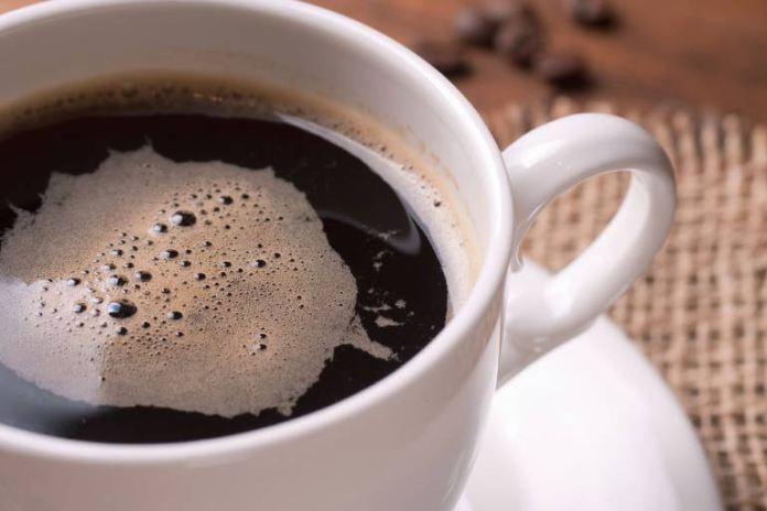 Drink caffeine early