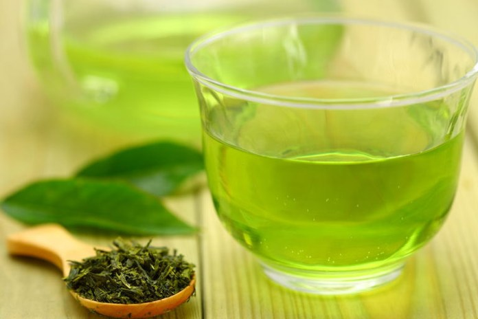 Green tea can give you a quick energy boost.