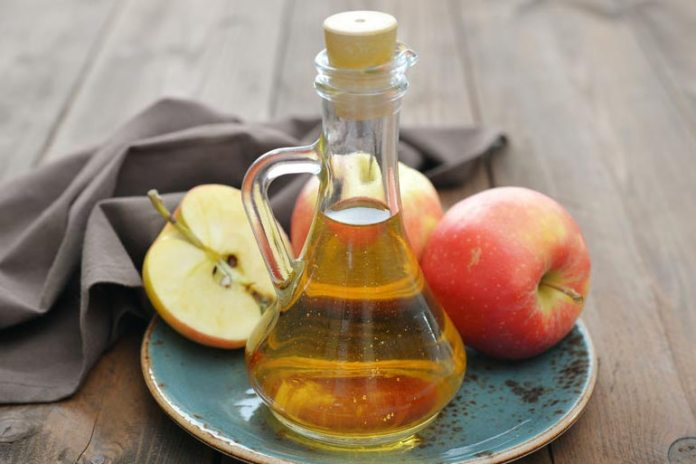 Apple Cider Vinegar Can Be Used To Treat Chest Acne