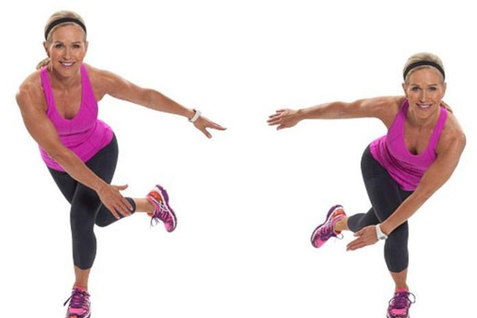 Skater jump improves limb coordination.