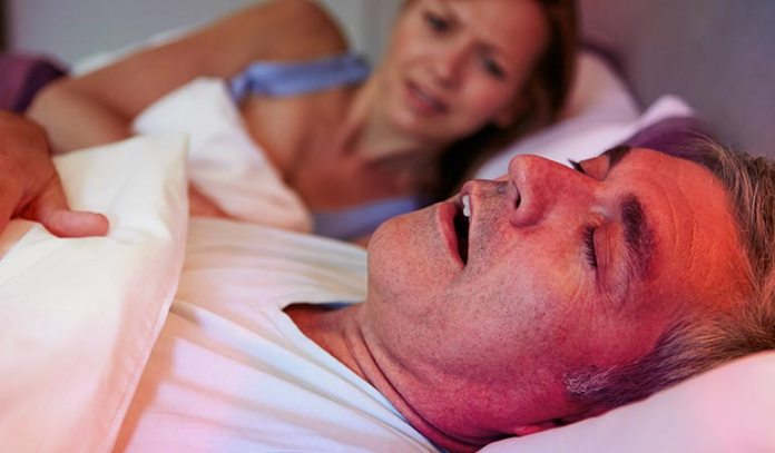 can be a symptom of sleep apnea