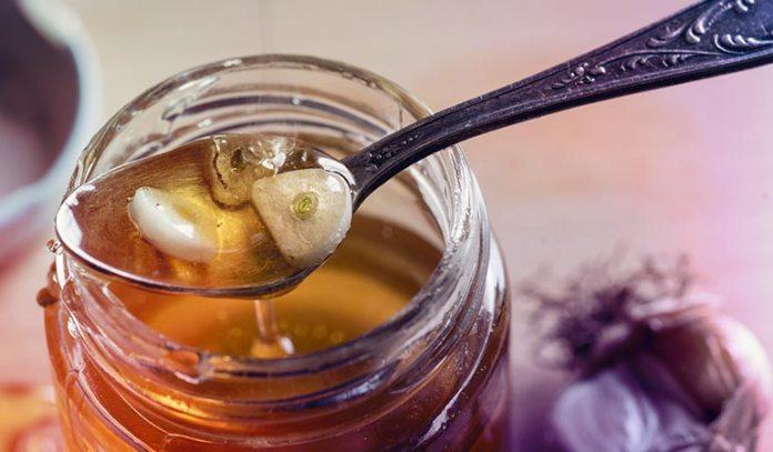 The fermented honey-garlic mixture helps boost immunity